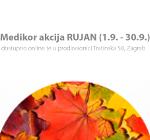 Medikor akcija RUJAN (1.9. - 30.9.)