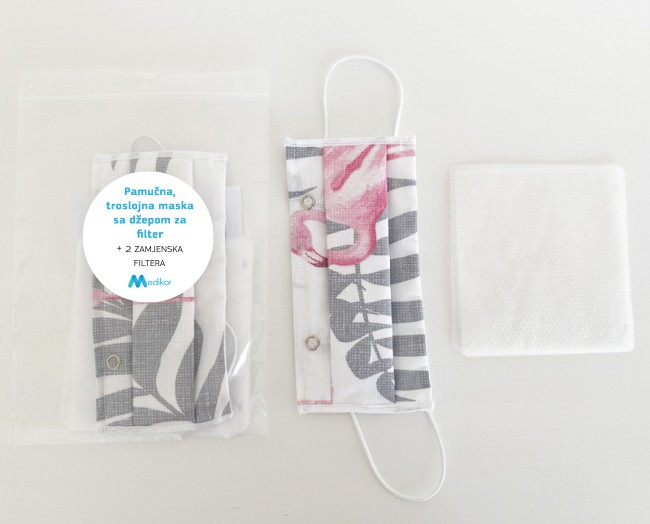 paket medikor troslojna-maska-za-lice-filterom-flamingo-02_1